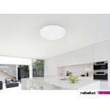 RABALUX 2654 | Lucas-RA Rabalux plafonjere lampa okrugli 1x LED 1440lm 3000K IP44 belo