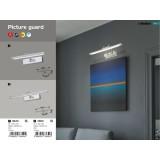 RABALUX 3640 | PictureGuard Rabalux zidna lampa elementi koji se mogu okretati 1x LED 300lm 3000K krom