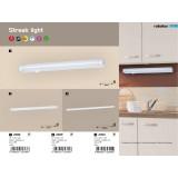 RABALUX 2389 | Streak-light Rabalux osvetlenje ploče lampa sa prekidačem 1x LED 550lm 3000K belo