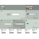 RABALUX 2321 | Bath Rabalux zidna svjetiljka s prekidačem s utičnicom 1x G23 / T1U 840lm 2700K bijelo