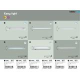 RABALUX 2363 | EasyLight Rabalux osvjetljenje ploče svjetiljka s prekidačem elementi koji se mogu okretati 1x G5 / T5 1890lm 2700K bijelo
