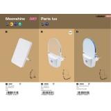 RABALUX 1462 | Moonshine-RA Rabalux noćno svetlo lampa svetlosni senzor - sumračni prekidač utična lampa 1x LED 3lm 3000K belo