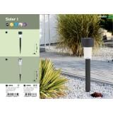 RABALUX 8365 | Solar Rabalux zapichovacie svietidlo slnečné kolektorové / solárne 1x LED IP44 čierna