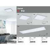 RABALUX 2173 | Damek Rabalux stropné svietidlo štvorec 1x LED 1260lm 4000K biela