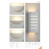 SEARCHLIGHT 4274 | GypsumS Searchlight zidna svjetiljka sa površinom za bojanje 1x E14 bijelo