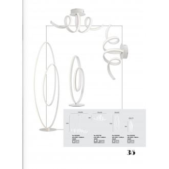 VIOKEF 4202200 | Cozi Viokef stolna svjetiljka 52cm 1x LED 960lm 3000K bijelo