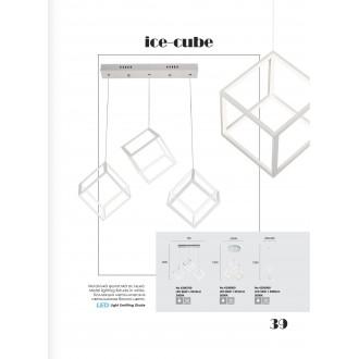 VIOKEF 4206700 | Ice-Cube-VI Viokef visiace svietidlo 1x LED 6912lm 3000K biela