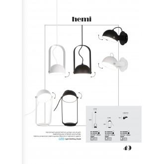 VIOKEF 4205600 | Hemi Viokef visilice svjetiljka 1x LED 540lm 3000K bijelo
