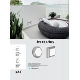 VIOKEF 4138000 | Leros-Plus Viokef stenové svietidlo 1x LED 225lm 3000K IP44 sivé, biela