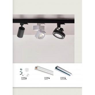 VIOKEF 02/0001 | Viokef-Track Viokef prvok systému - sprievodná koľajnica doplnok čierna